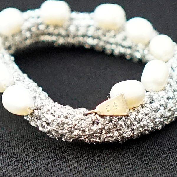 Lucy Folk's Pearl Bracelet